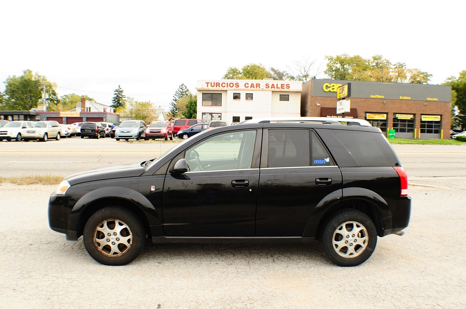 2006 Saturn Vue Black 4x2 used SUV used car sale Antioch Zion Waukegan Lake County Illinois