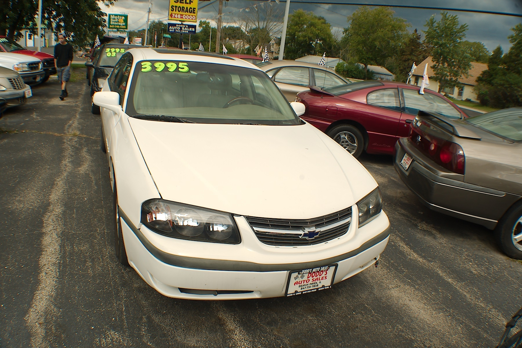 2003 Chevrolet Impala LS White Sedan Sale Gurnee Kenosha Mchenry Chicago Illinois