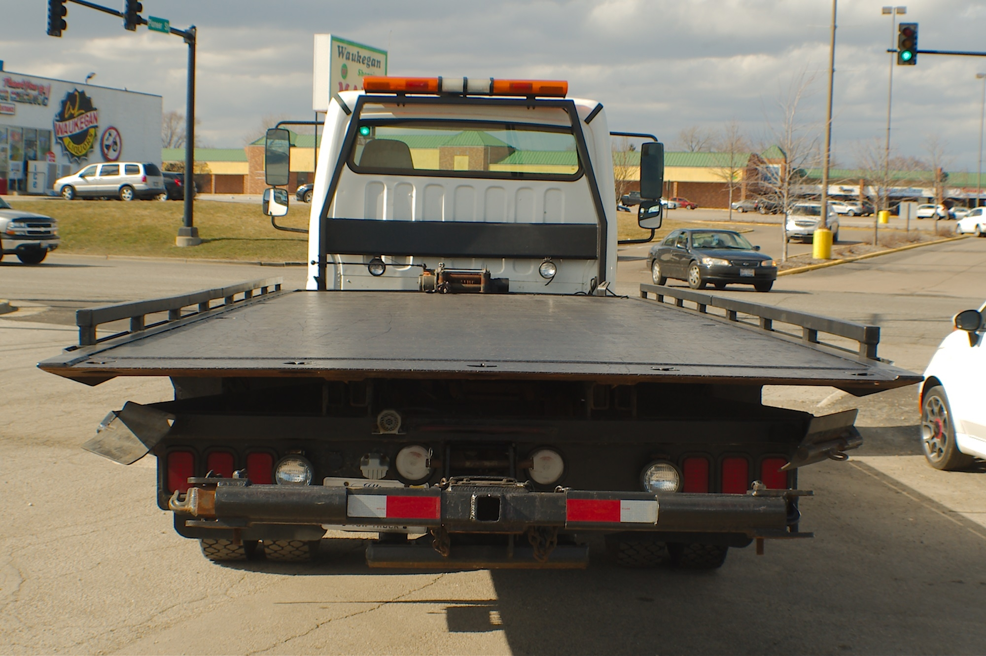 2006 Freightliner Flatbed Tow Wrecker Truck Sale Buffalo Grove Deerfield Fox Lake Antioch