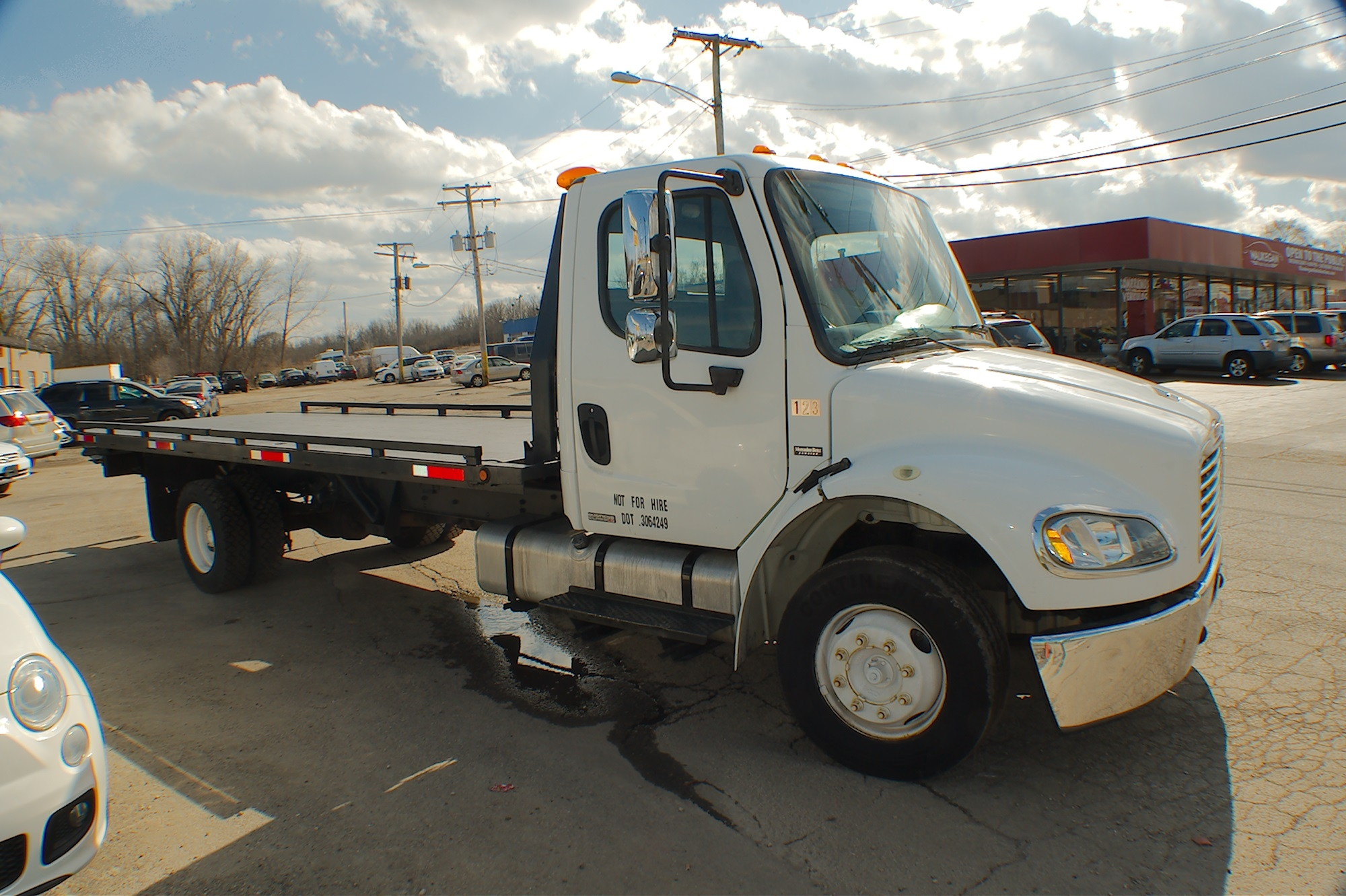 2006 Freightliner Flatbed Tow Wrecker Truck Sale Bannockburn Barrington Beach Park