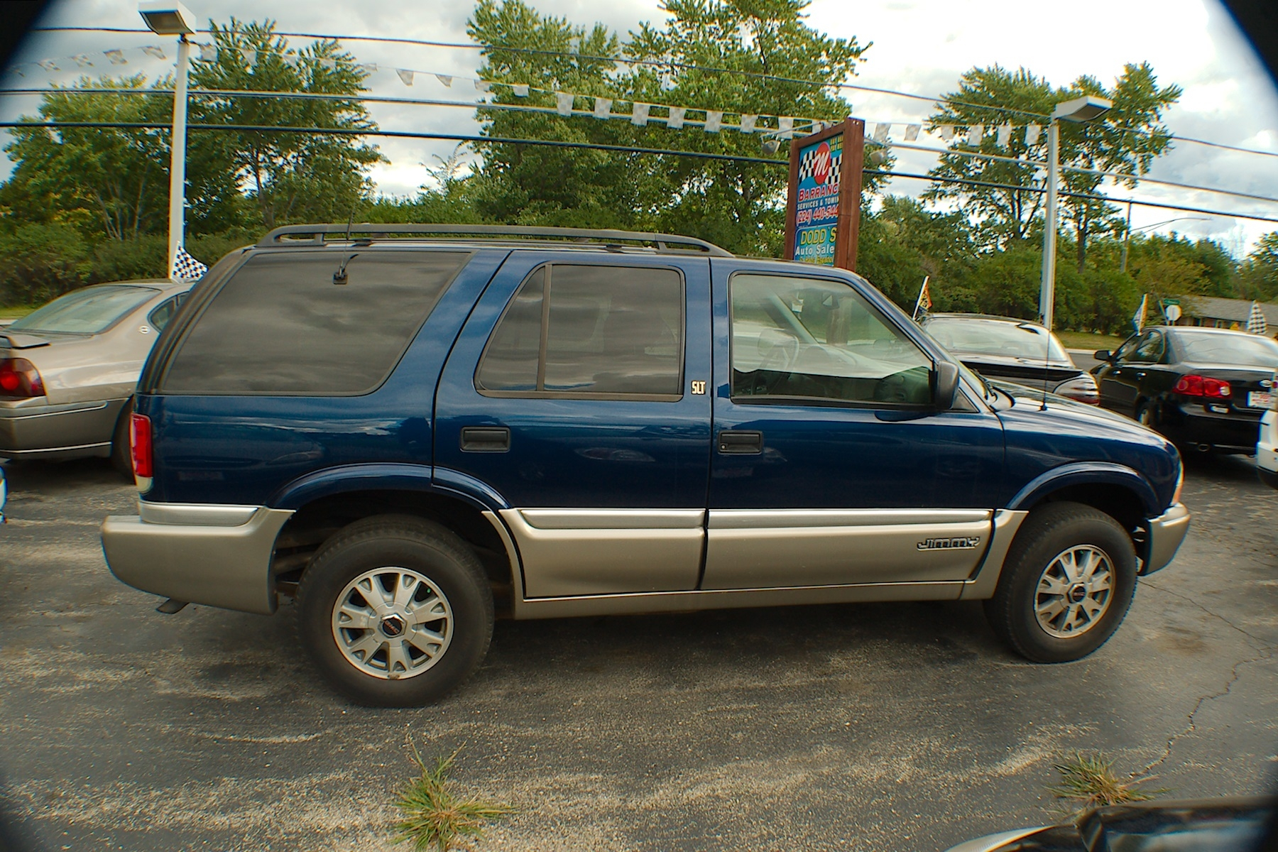 2001 GMC Jimmy SLT 4x4 Blue Used SUV Sale Bannockburn Barrington Beach Park