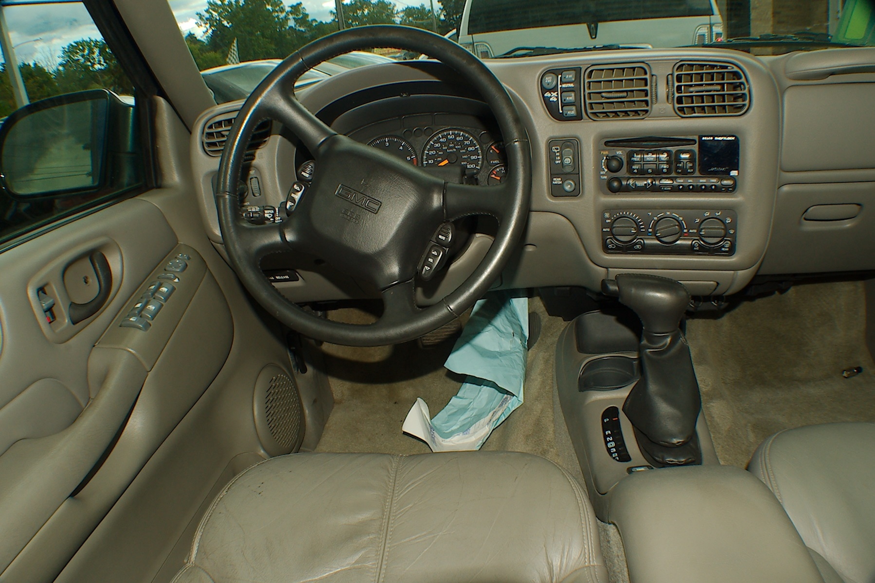 2001 GMC Jimmy SLT 4x4 Blue Used SUV Sale Green Oaks Hainesville Hawthorne Woods