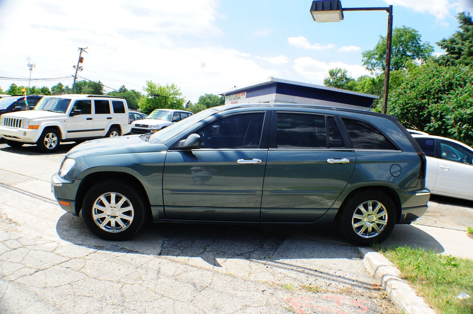2007 Chrysler Pacifica Magnesium Pearl Used car sale Addison Algonquin Arlington Heights Bartlett