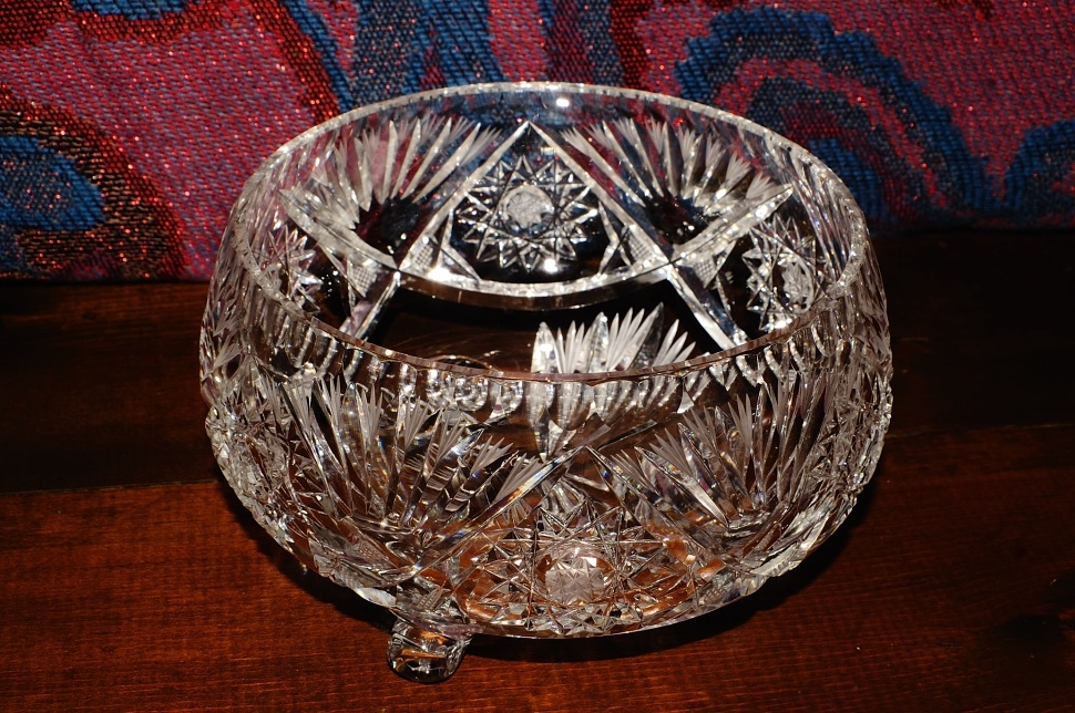 Cut Glass Crystal Decorative Star David Candy Fruit dish sale