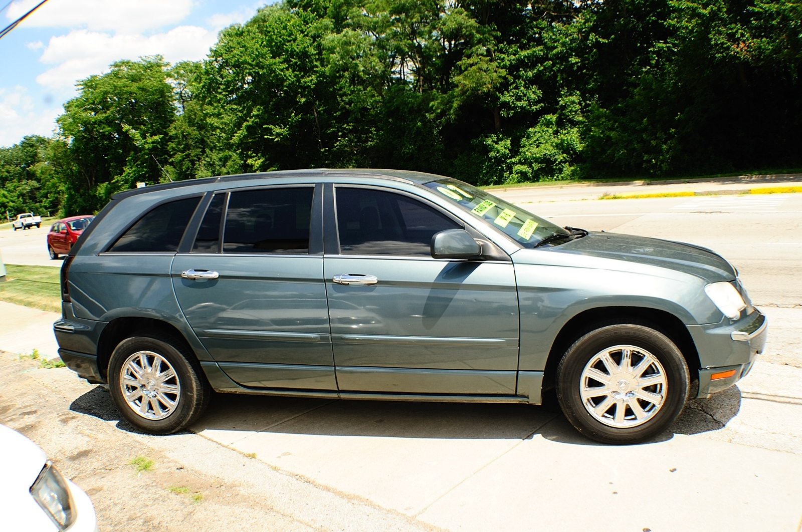 2007 Chrysler Pacifica Magnesium Pearl Used car sale Downers Grove Carpentersville Cicero