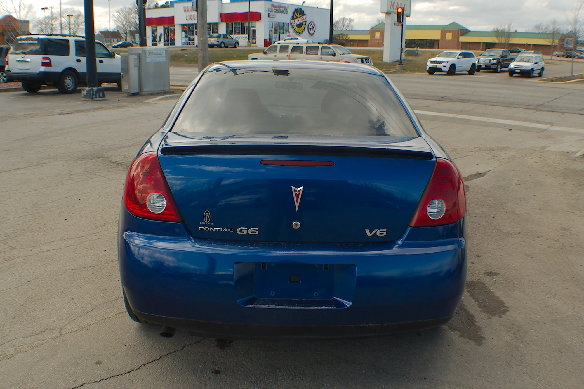 2007 Pontiac G6 Blue Sedan Used Car Sale Buffalo Grove Deerfield Fox Lake Antioch