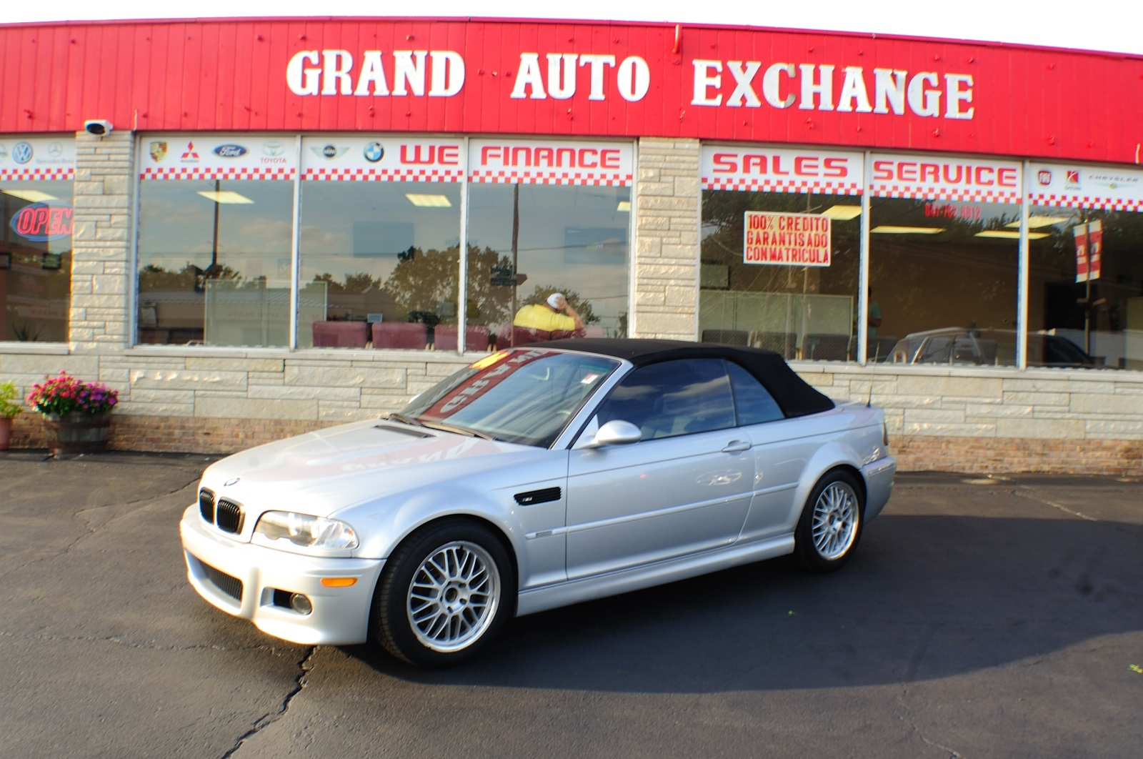 2006 BMW M3 Convertible Silver used car sale Antioch Zion Waukegan Lake County Illinois