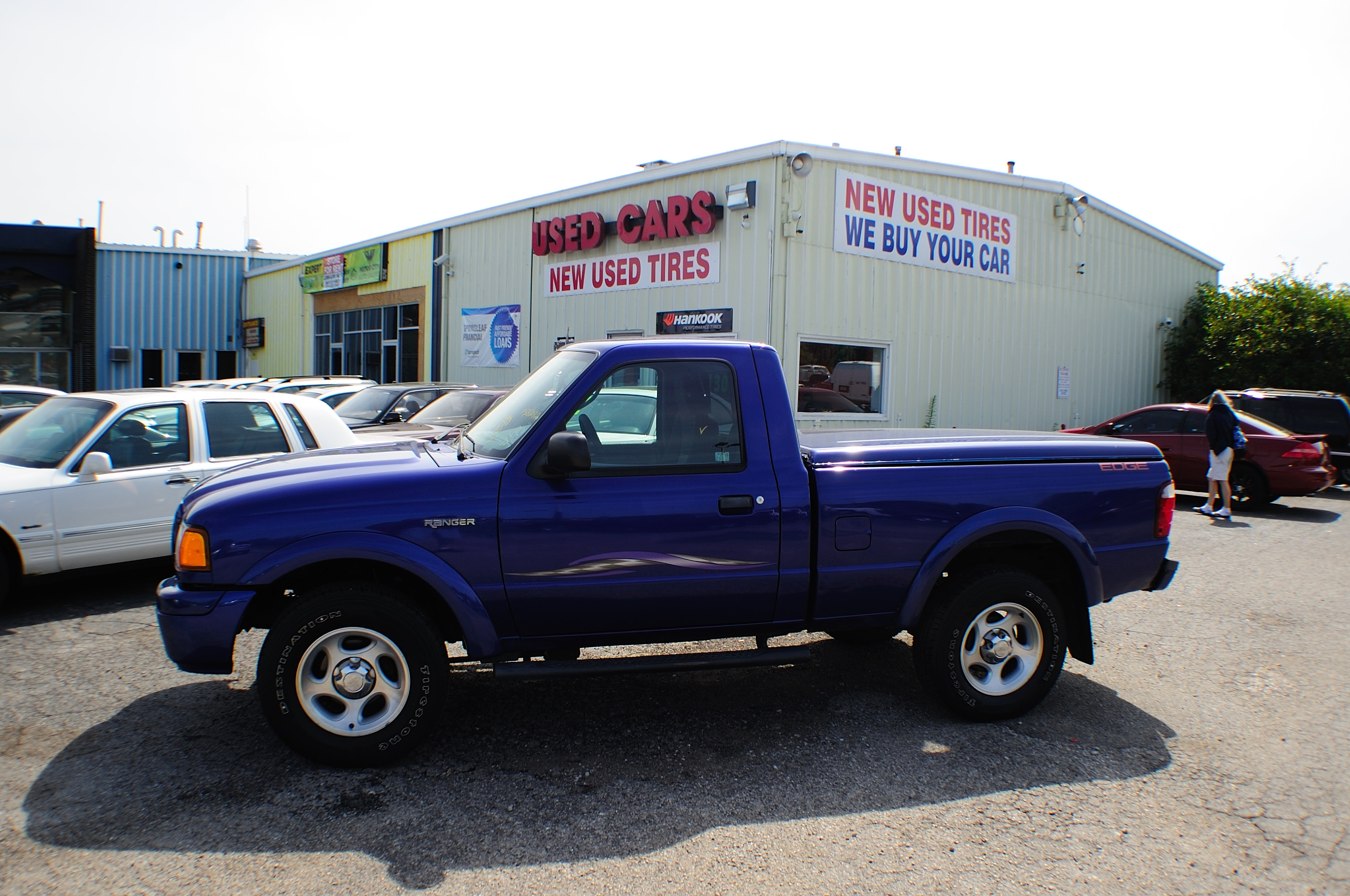 2004 Ford Ranger Edge Blue 4X2 Sport Used Truck Sale Antioch Grayslake
