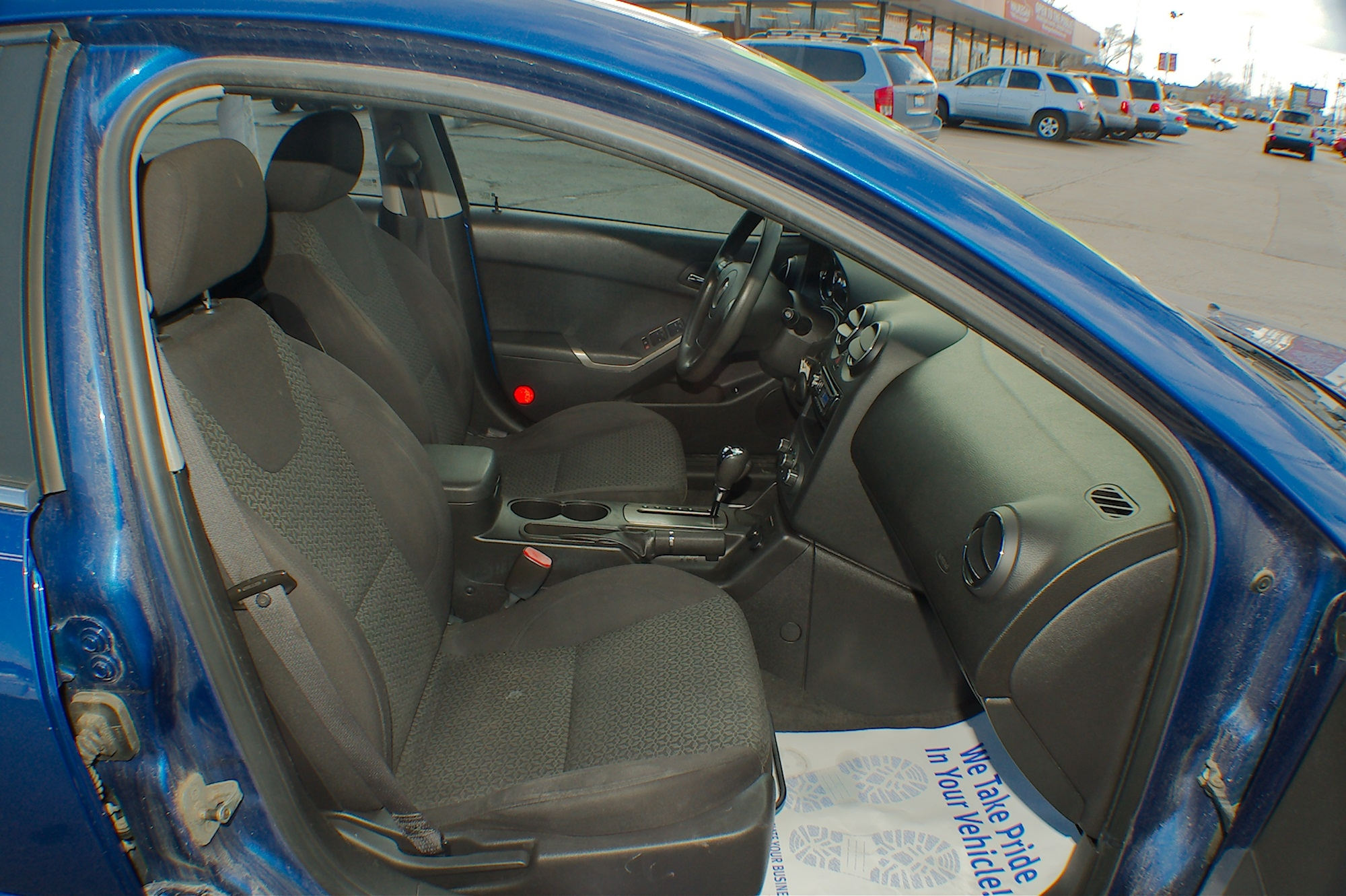 2007 Pontiac G6 Blue Sedan Used Car Sale Lake Villa Lake Zurich Lakemoor Milwaukee