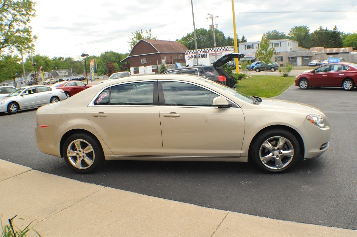 2011 Chevy Malibu Lt Pewter Used Car Sedan Sale Nac