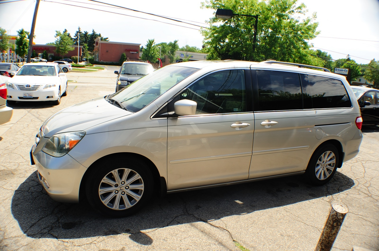 2005 Honda Odyssey Silver Touring Used Mini Van Sale Addison Algonquin Arlington Heights Bartlett