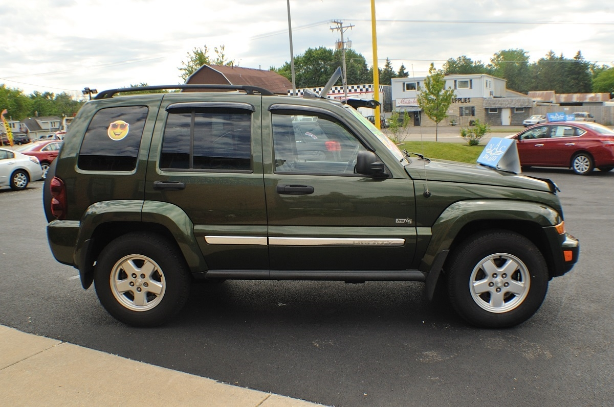Liberty Auto Sales >> 2006 Jeep Liberty Green 4x4 used SUV Sale