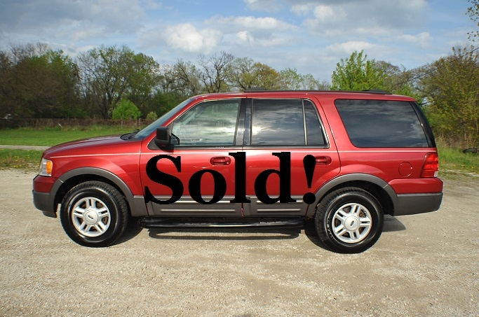 Ford Expedition XLT Red Used SUV 4x4 best Sale Antioch Zion Waukegan