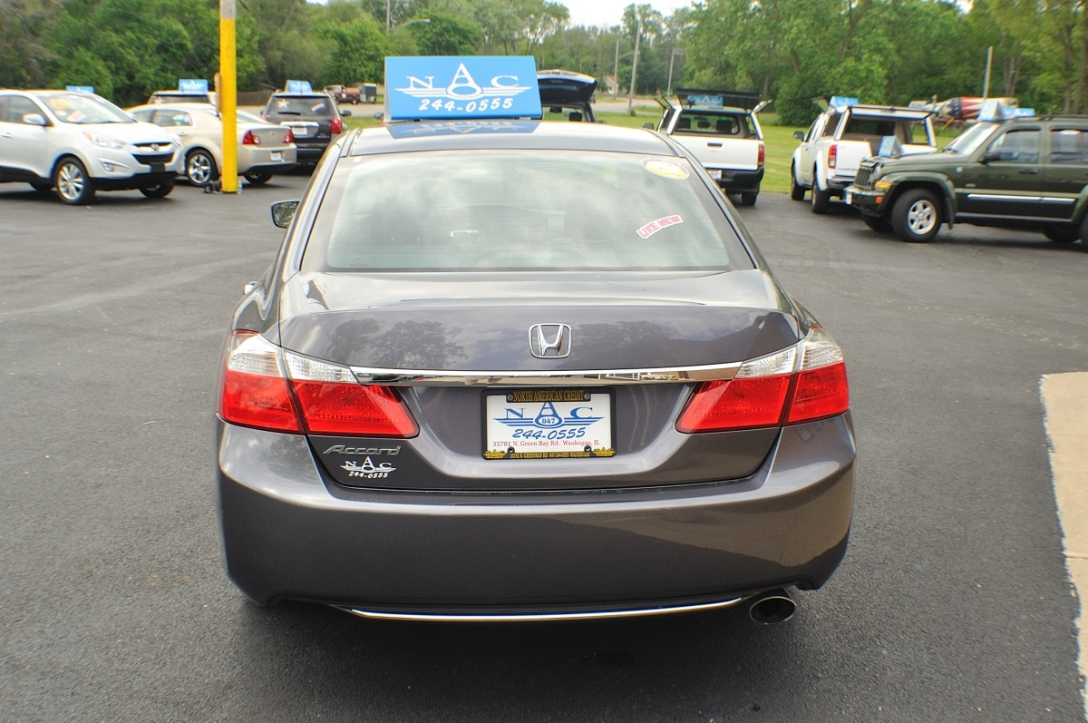 2015 Honda Accord Gray used sedan sale Buffalo Grove Deerfield Fox Lake Antioch