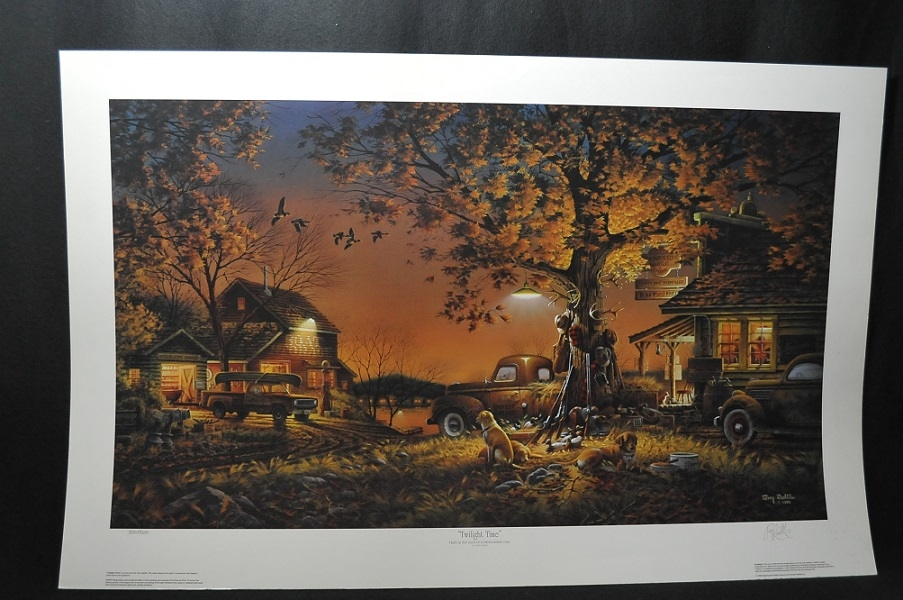 Terry Redlin Twilight Time Artist Signed Art Print Sale