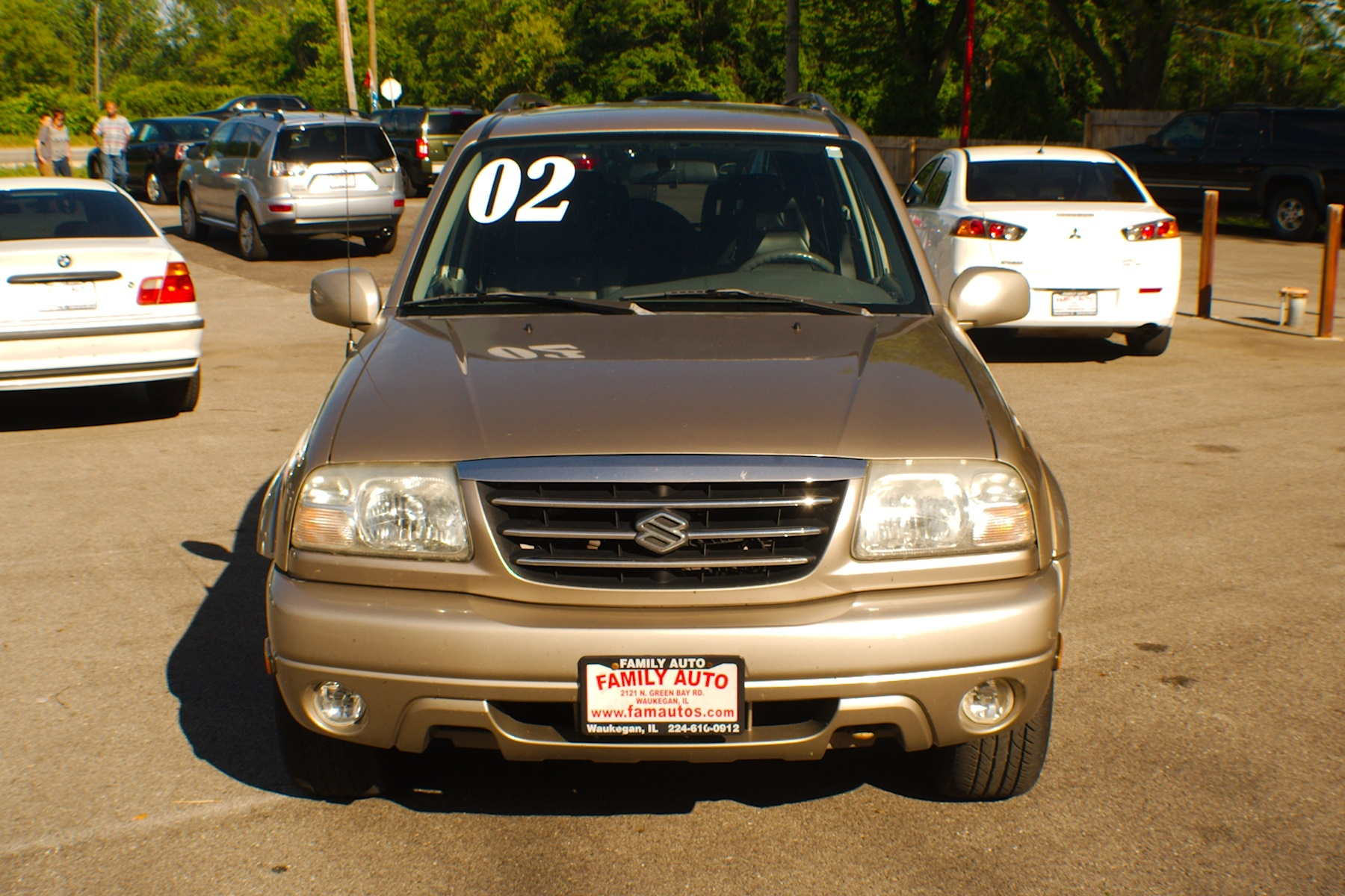 2002 Suzuki XL7 Limited 4x4 Sand Used SUV Sale Gurnee Kenosha Mchenry Chicago Illinois