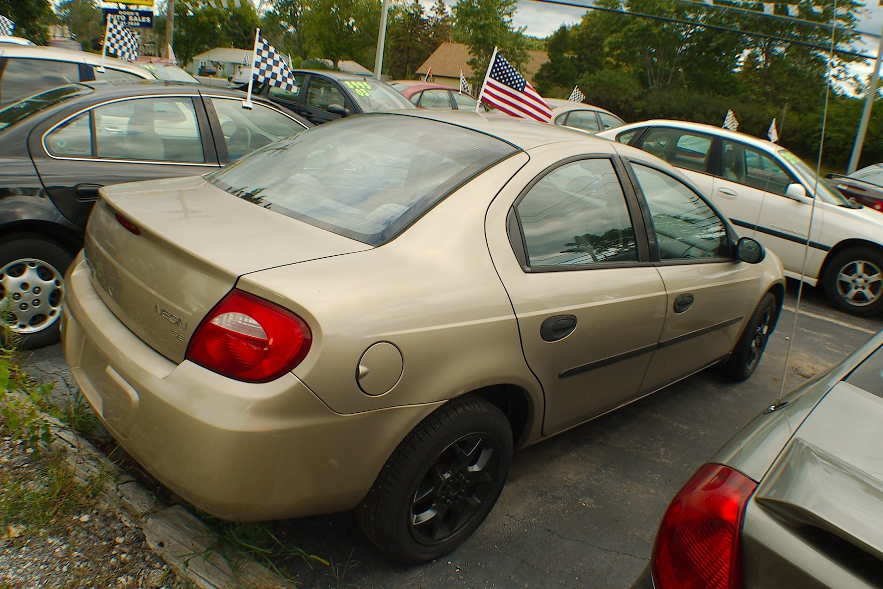 2003 Dodge Neon Pewter Sedan Used Car Sale Bannockburn Barrington Beach Park
