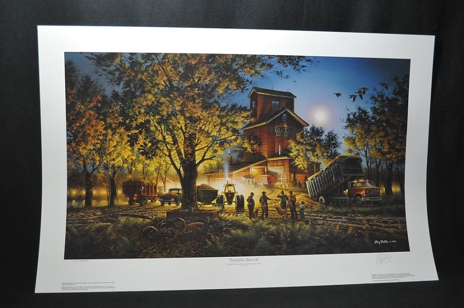 Terry Redlin Bountiful Harvest Artist Print Sale Collectable art