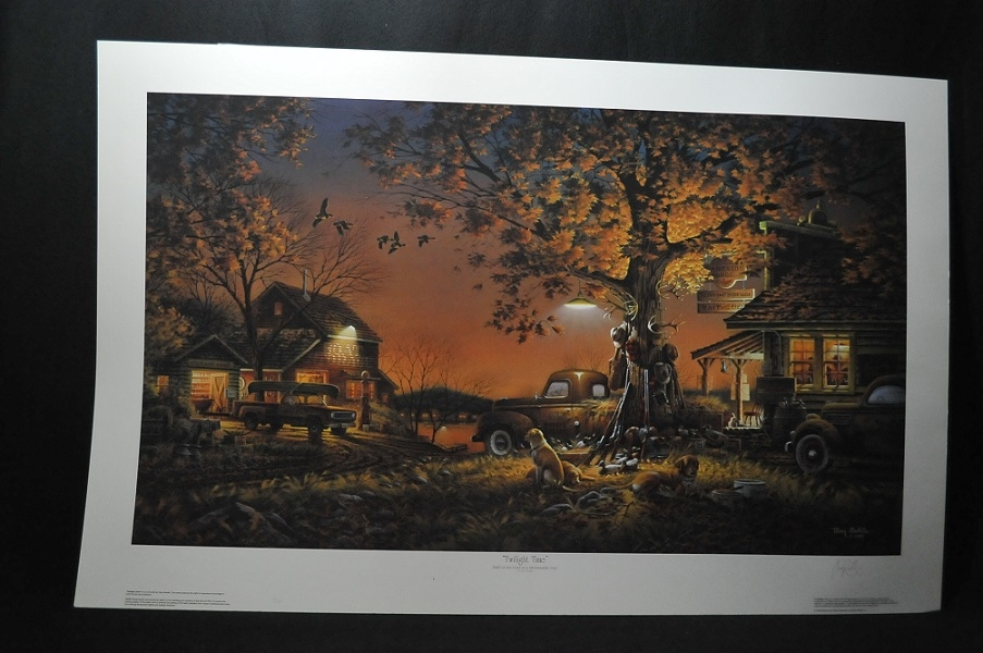Terry Redlin Twilight Time Artist Signed Art Print Sale collectible