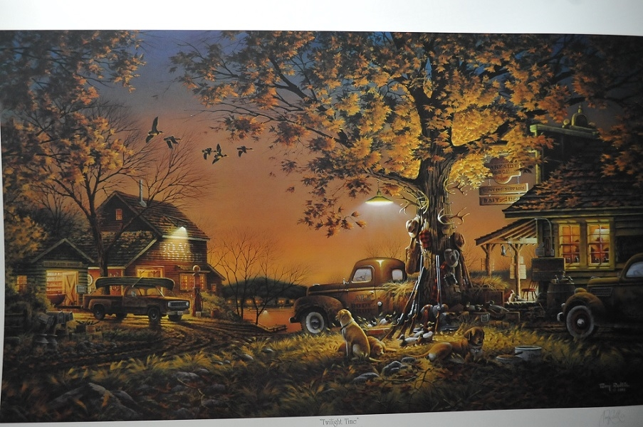 Terry Redlin Twilight Time Artist Signed Art Print Sale rare prints