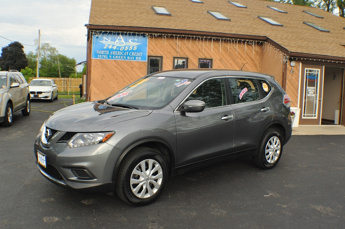 2014 Nissan Rogue AWD Gray Used SUV Sale