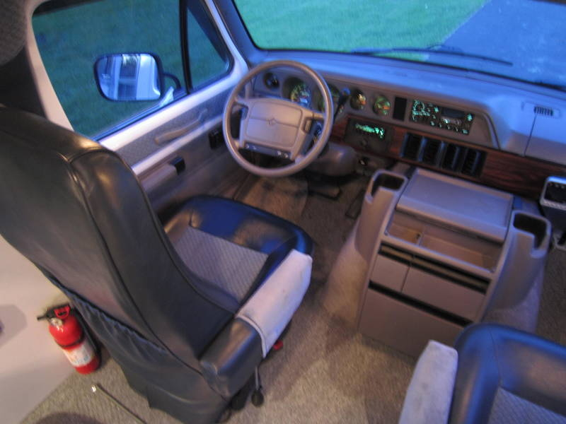 1997 Dodge Sportsmobile White EB Hardtop used RV Sale Illinois