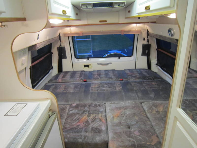 1998 Leisure Travel Freedom Wide Body Dodge Used RV Sale stabin cabin