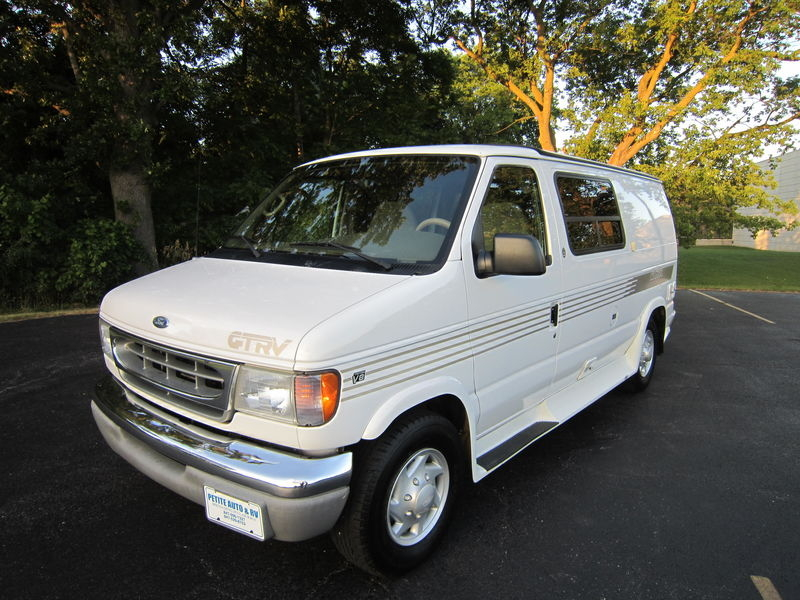 2001 Ford E250 GTRV Westy RB50 Pop Top used RV sale Gurnee Kenosha Mchenry Chicago Illinois