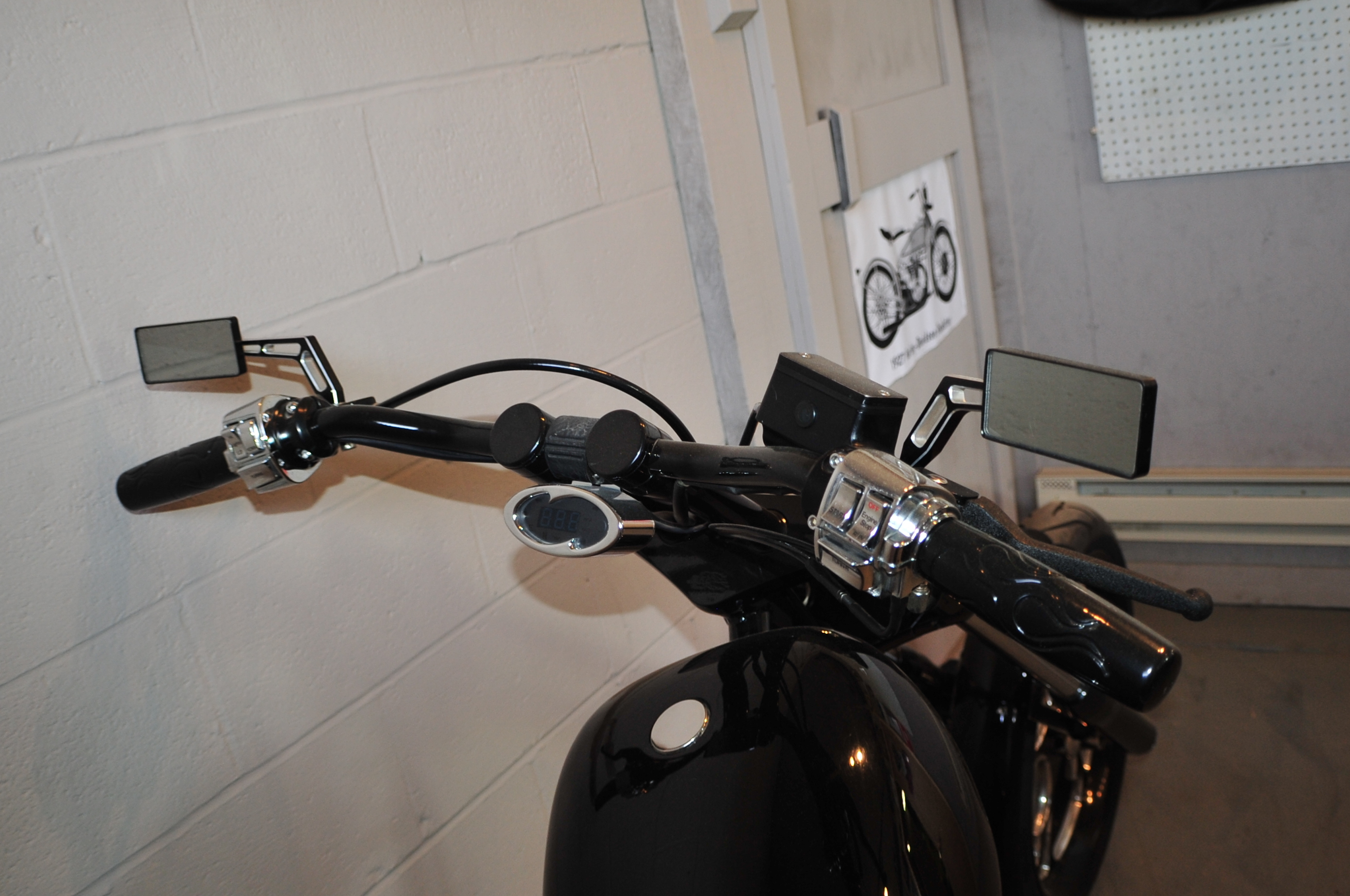 2015 New Age Choppers Glossy Black Custom Motorcycle Sale McHenry