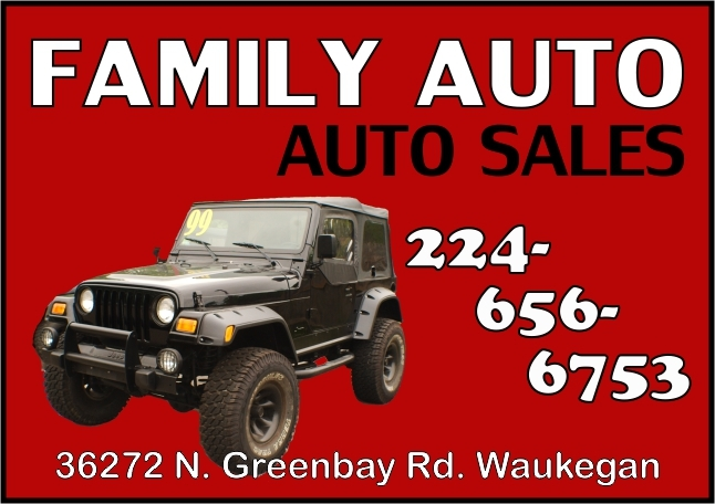 Family Auto Car Truck Boat Motorcycle Sales Waukegan