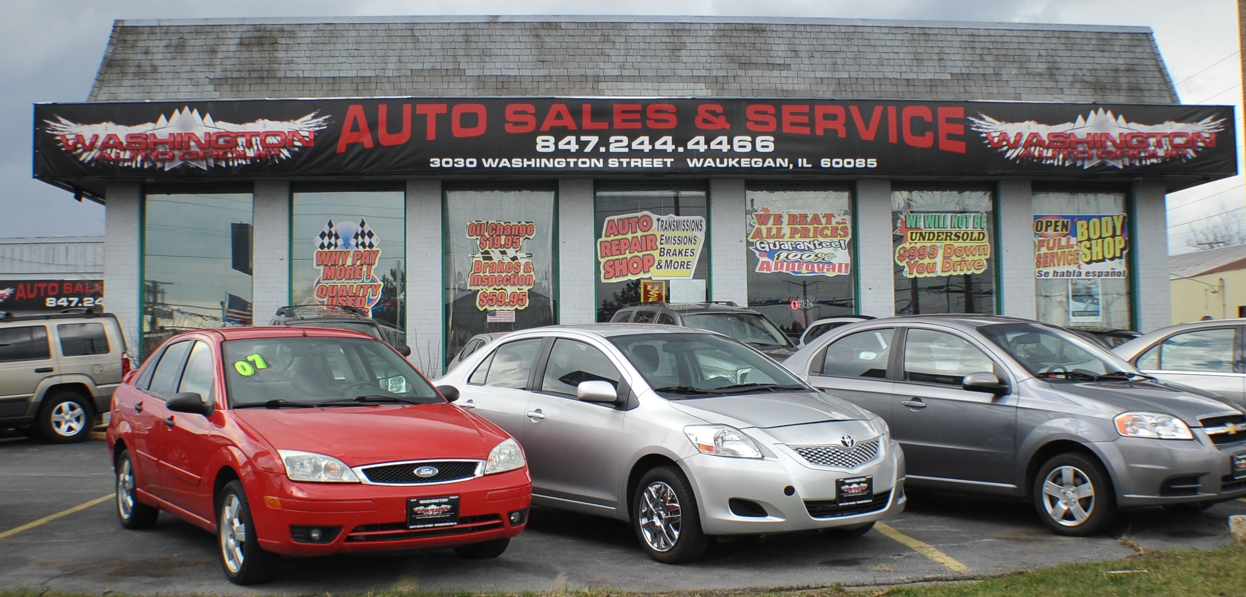 Washington Auto Group auto sales service repair used car body shop