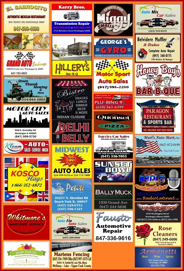 business pages auto dealers used cars Lake County Illinois