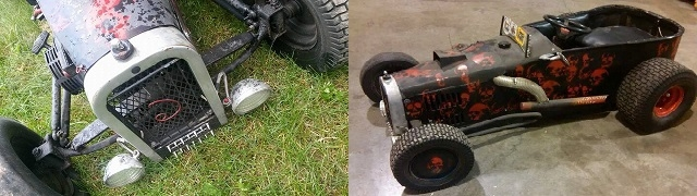 Custom Hand made Hot rod fabricator mini karts