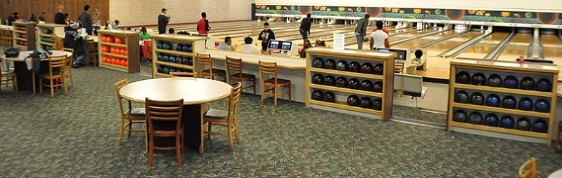 Sunset Bowl Waukegan fun work business party best bowling alley