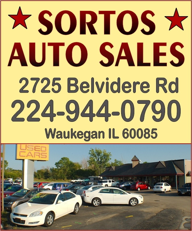 Used Dealer In North Riverside Il: Sortos Auto Sales Waukegan Used Cars Trucks Mini Vans Dealer