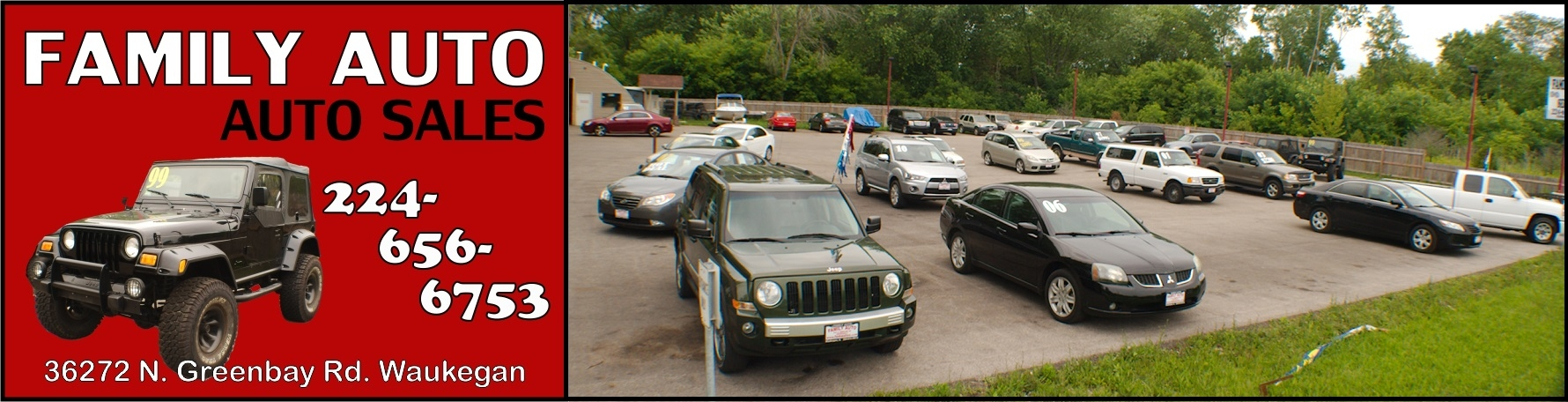 Family Auto used car sales Waukegan