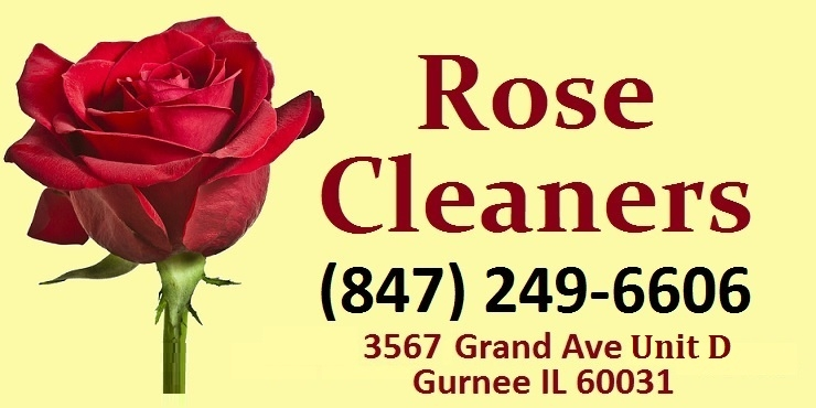 Rose Cleaners dry cleaning Gurnee Waukegan Zion Lake County Illinois