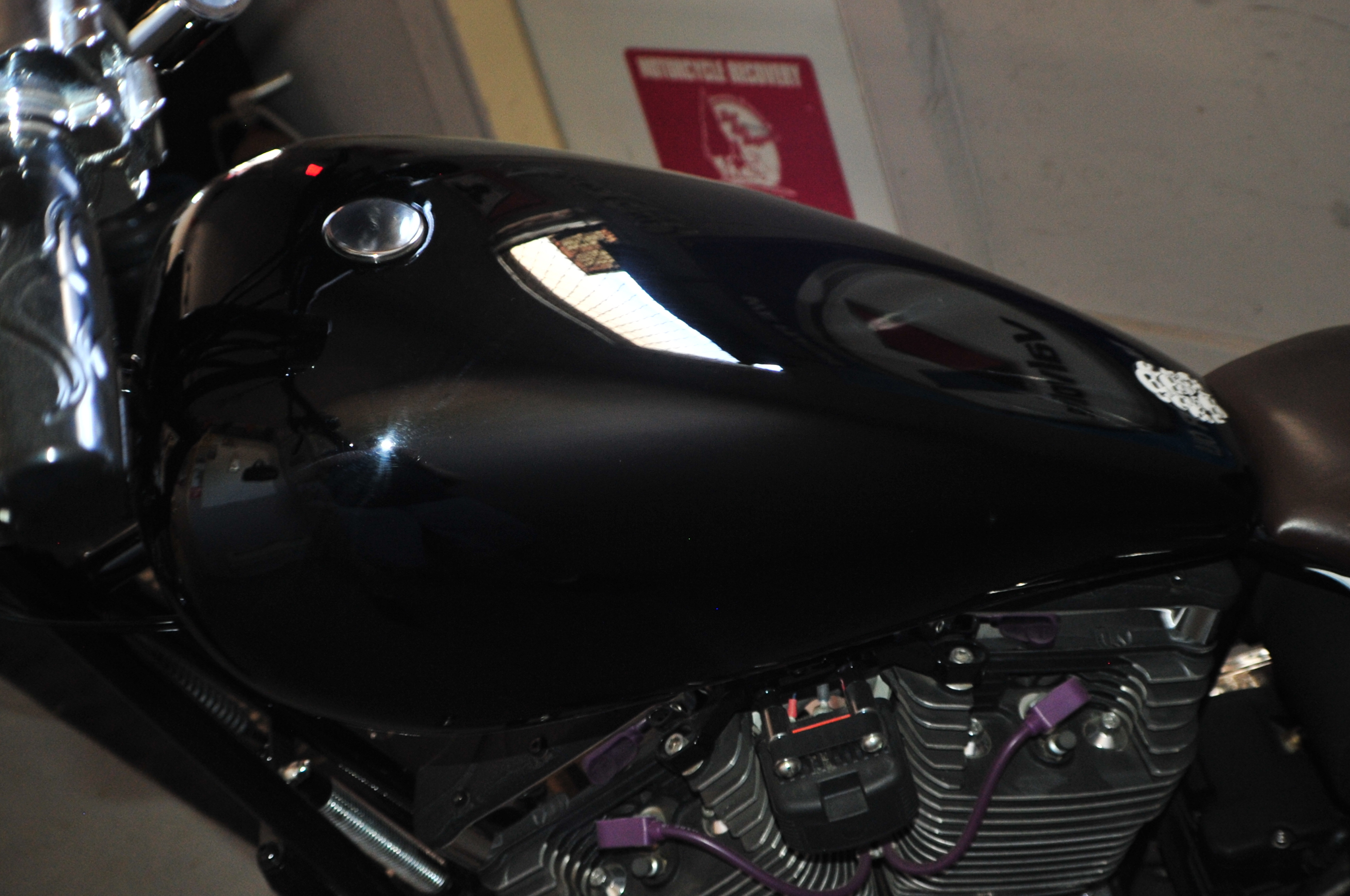2015 New Age Choppers Glossy Black Custom Motorcycle Shop Sale Chicago