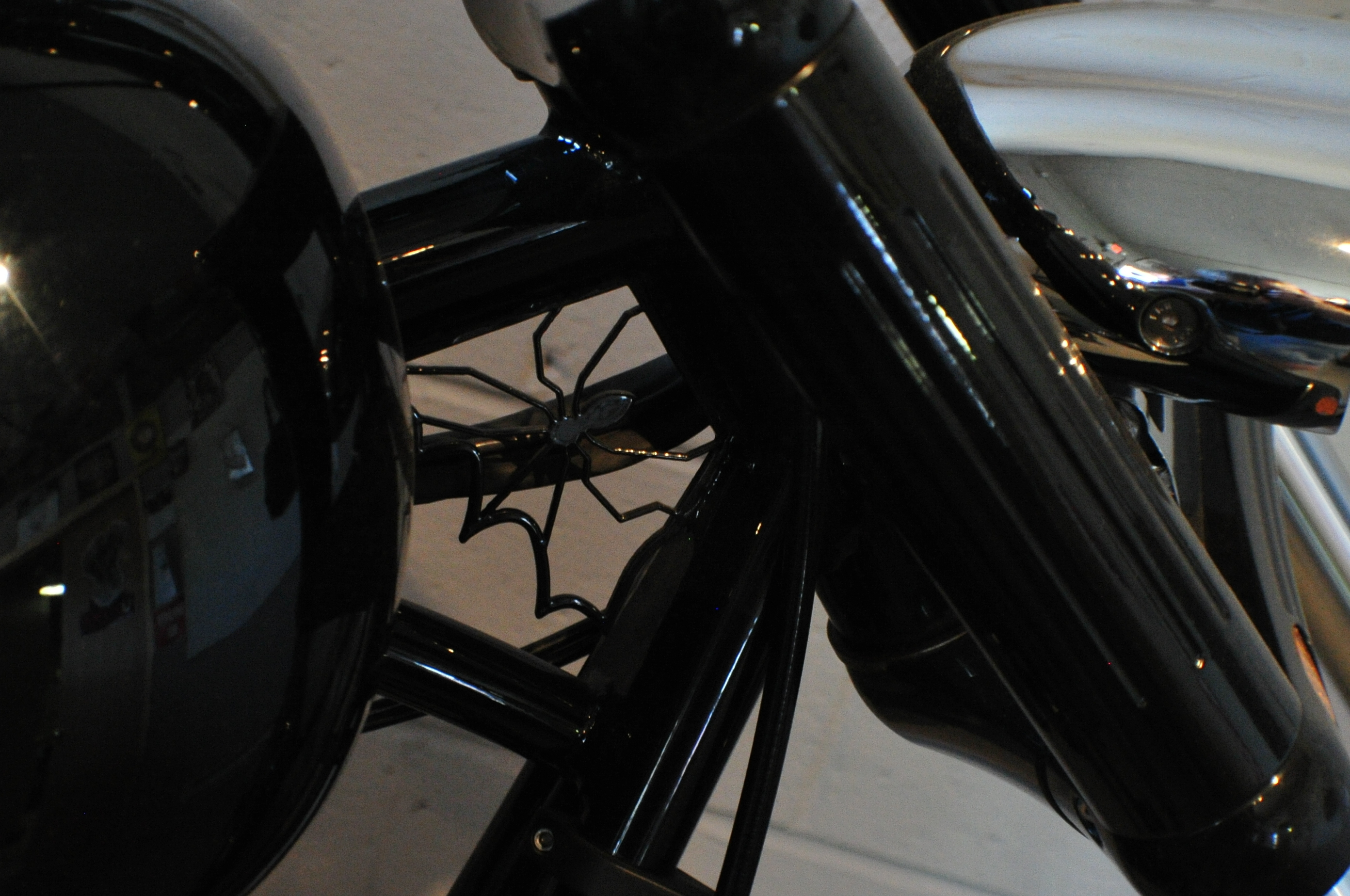 2015 New Age Choppers Glossy Black Custom Motorcycle Sale Gages Lake