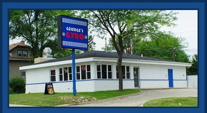 Georges Gyros North Chicago best restaurant good food burgers Steak Sandwiches